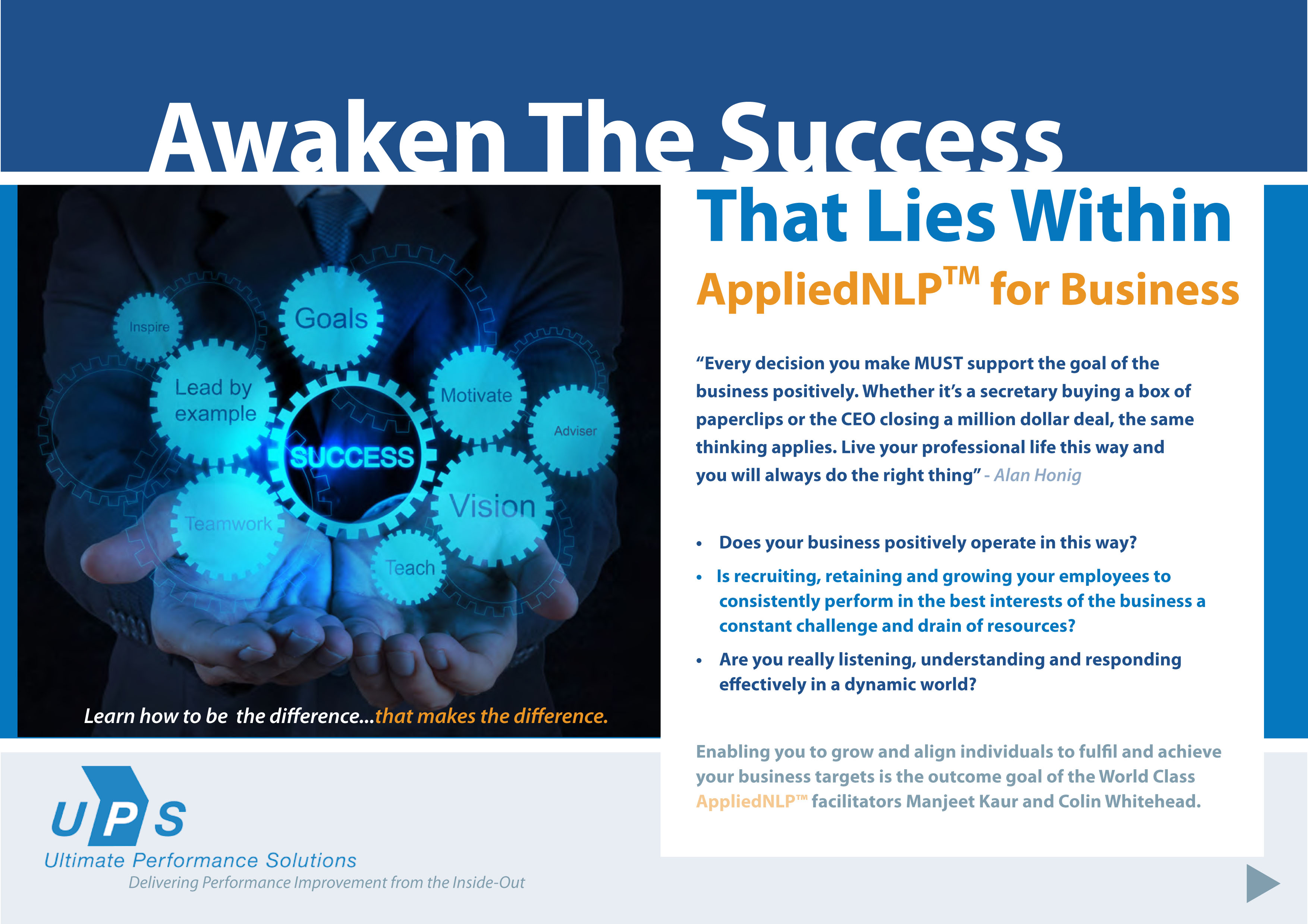 Appliednlp for business certification ultimate performance applied nlp for business 2013 1 1betcityfo Image collections